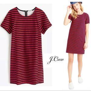 J Crew Ref Striped Casual T Shirt Dress